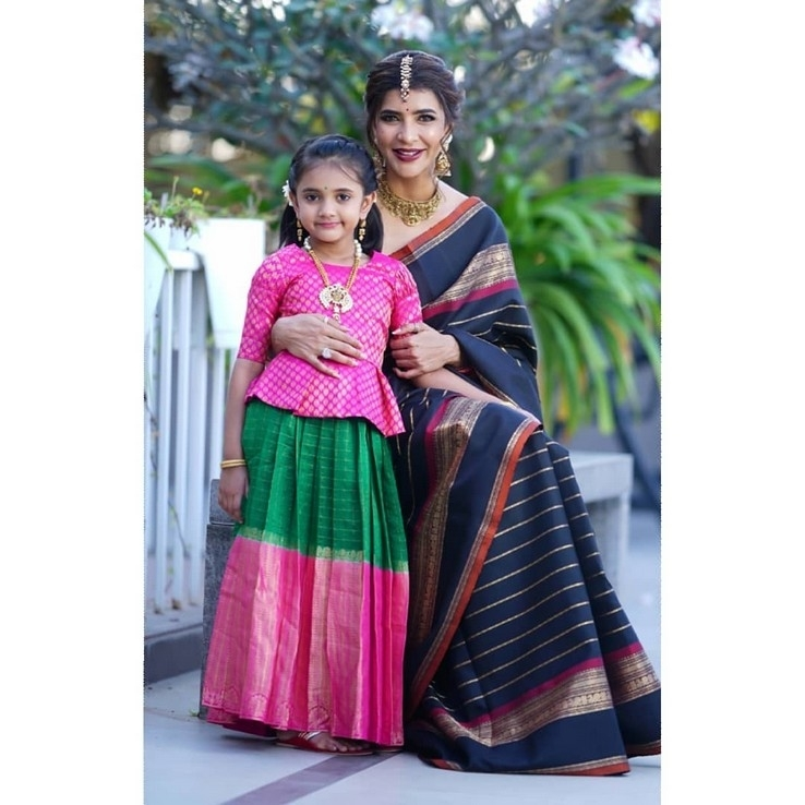 Lakshmi Manchu With Her Daughter - 2 of 3