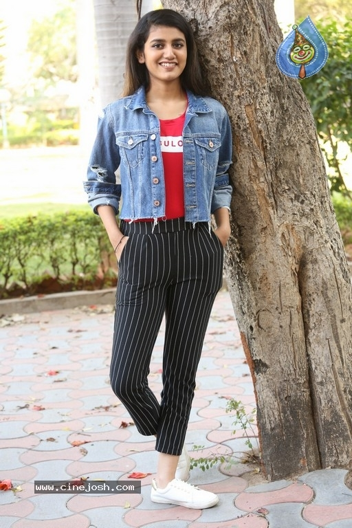 Priya Prakash Varrier Interview Photos - 18 / 21 photos