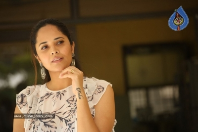 Anasuya  Interview Pics - 9 of 21