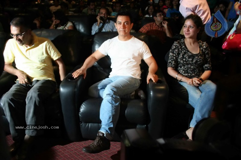 Aamir Khan unveils Peepli Live first look - 1 / 15 photos
