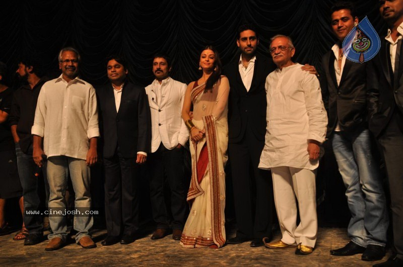 Abhishek,Aishwarya Rai,Vikram At Raavan Music launch - 20 / 53 photos