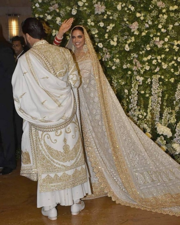 Deepika and Ranveer Mumbai Reception - 2 / 11 photos