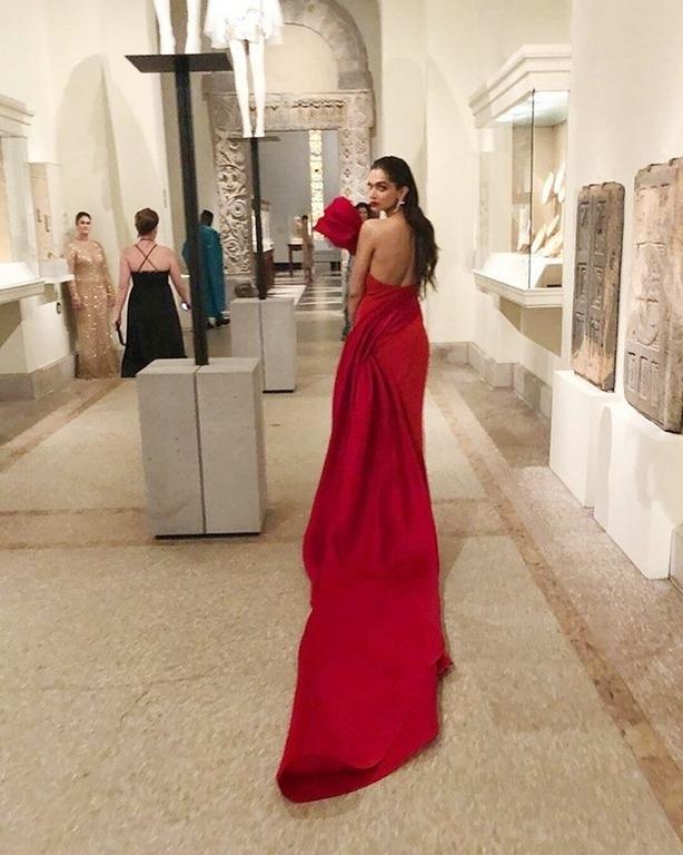 Deepika Padukone At The MET Gala 2018 - Photo 10 of 13