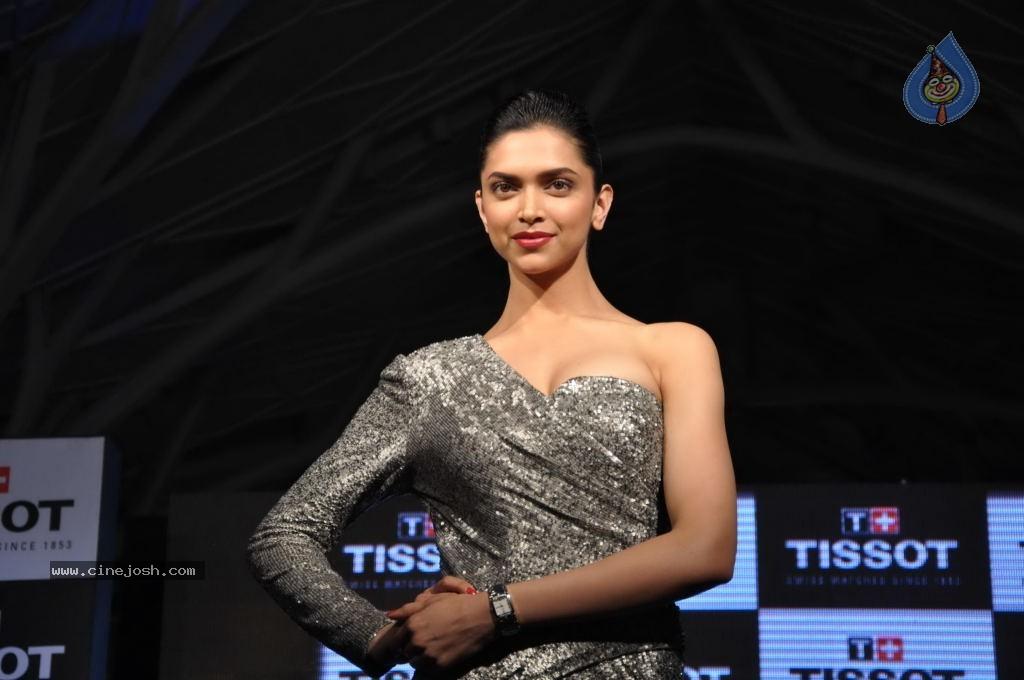Deepika Padukone Launches New Tissot Watches - Photo 2 of 31