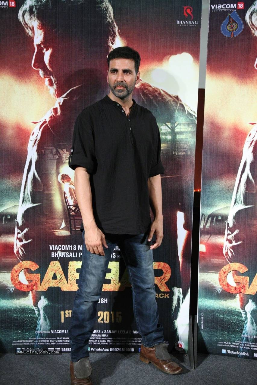 Gabbar is Back Trailer Launch - Photo 6 ...