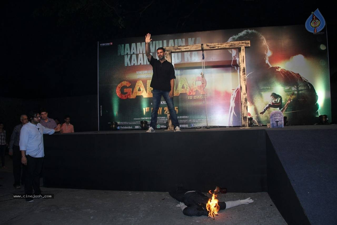 Gabbar is Back Trailer Launch - Photo ...