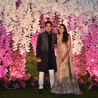 Akash Ambani And Shloka Mehta Reception Photos - 10 of 75