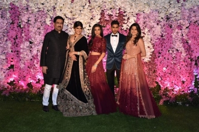 Akash Ambani And Shloka Mehta Reception Photos - 20 of 75