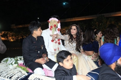 Azhar Morani & Tanya Seth Wedding Reception - 4 of 25