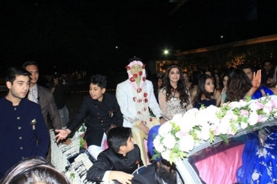 Azhar Morani & Tanya Seth Wedding Reception - 17 of 25