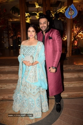 Bollywood Celebs Attend Saudamini Mattu Wedding Reception - 13 of 51