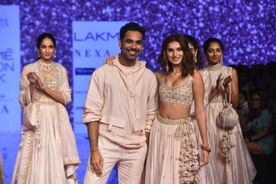 Celebrities walks the Ramp at Lakme Fashion Week 2020 - 18 of 41