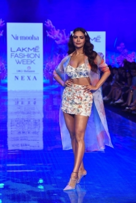 Celebrities walks the Ramp at Lakme Fashion Week 2020 - 21 of 41