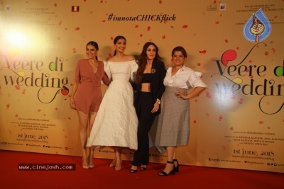 Veere Di Wedding Movie Trailer Launch Photos - 17 of 18