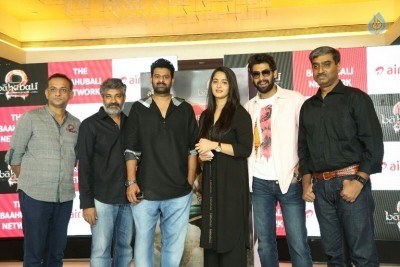 Baahubali 2 Movie Release Press Meet Photos :21-04-2017