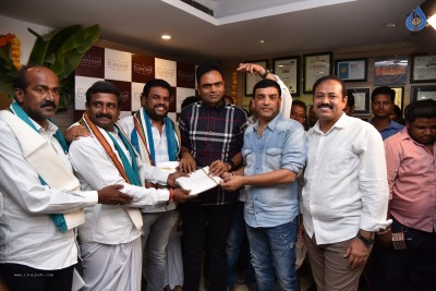 Dil Raju And Vamshi Paidipally At Ulavacharu Restaurant Event