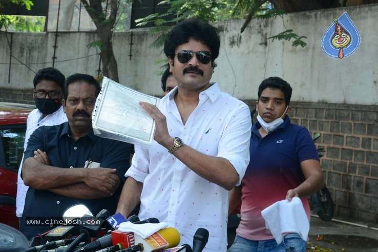 Dasari Arun Kumar Press Meet - 5 / 10 photos