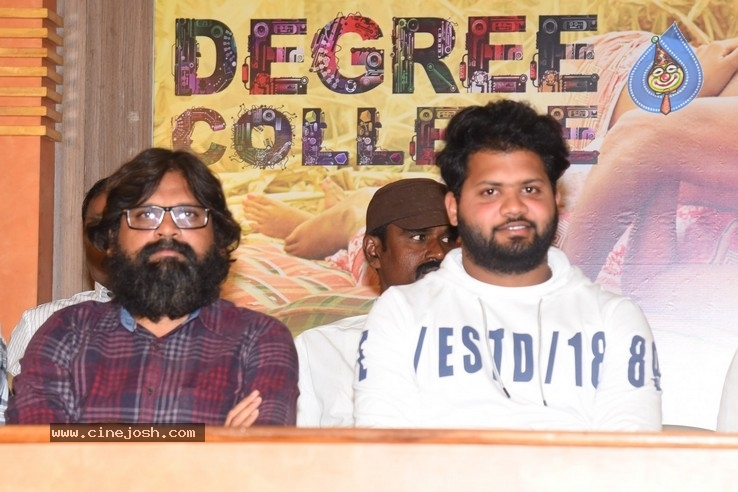 Degree College Movie Trailer Launch Photos - 20 of 30