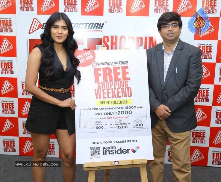 Hebah Patel Unveils Free Shopping Weekend Of Brand Factory - 2 / 42 photos