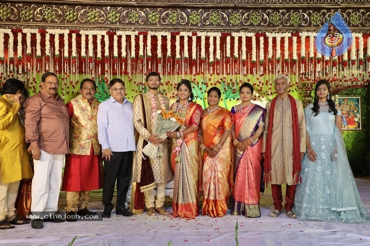 Journalist Prabhu Daughter Wedding Photos - 11 / 17 photos