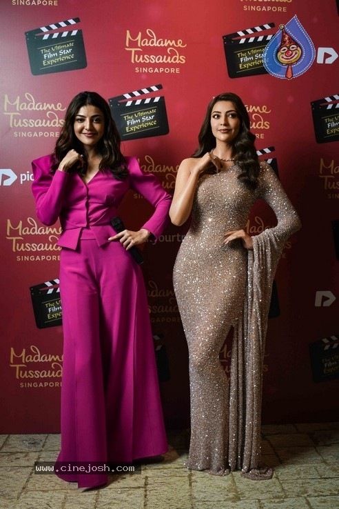 Kajal Aggarwal Wax Statue Launch Photos - 13 / 18 photos
