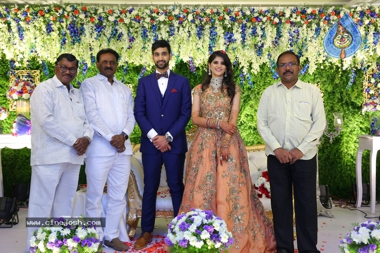 Shiva Sai Wedding Reception - 2 / 40 photos