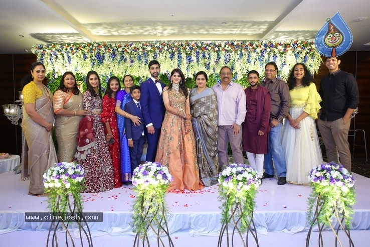 Shiva Sai Wedding Reception - 9 / 40 photos