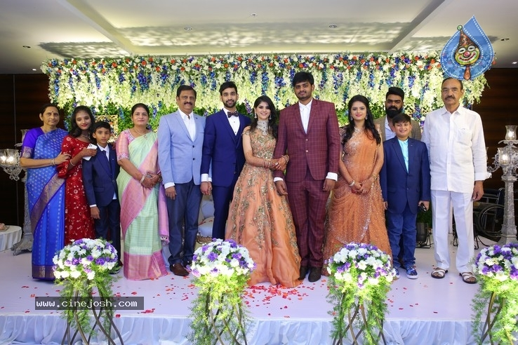 Shiva Sai Wedding Reception - 14 / 40 photos