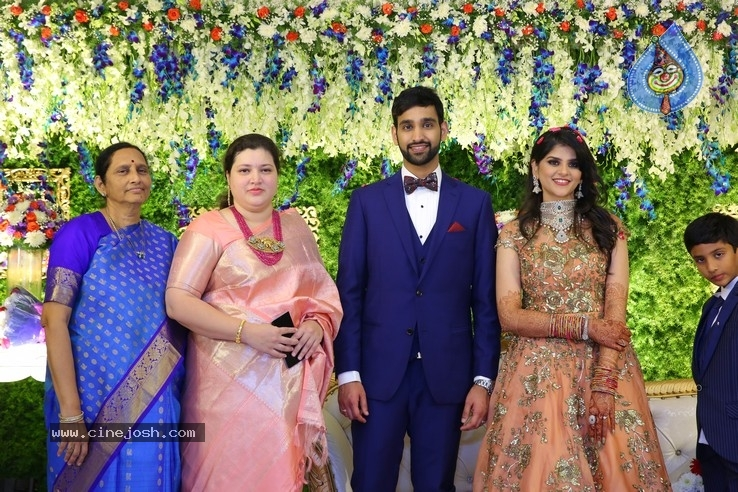 Shiva Sai Wedding Reception - 20 / 40 photos