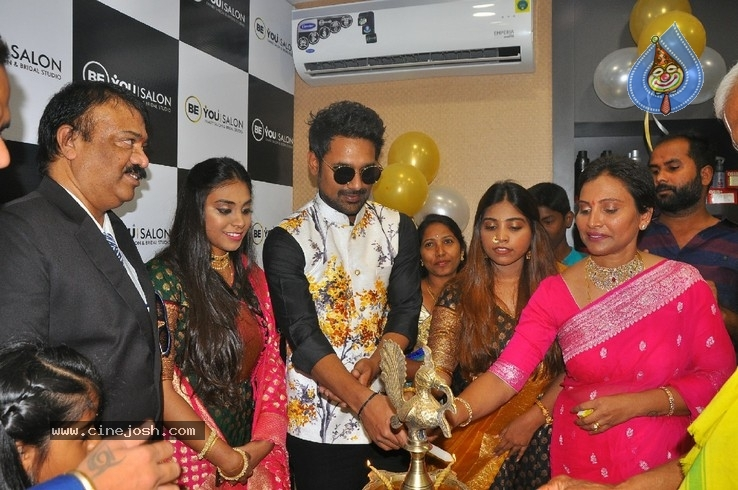 Varun Sandesh inaugurates  BeYou Salon - 6 / 30 photos