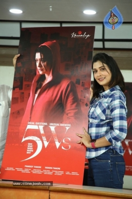 5ws Movie First Look Launch - 17 of 19