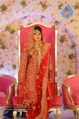 Ahmed Abhdul Taqveem And Dr Zoha Mujeeb Wedding Ceremony - 34 of 62