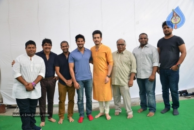 Akhil-Venky Atluri Movie Opening Photos - 68 of 86
