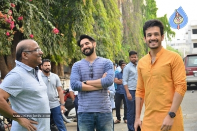 Akhil-Venky Atluri Movie Opening Photos - 70 of 86