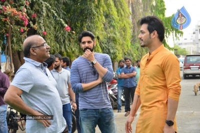 Akhil-Venky Atluri Movie Opening Photos - 72 of 86