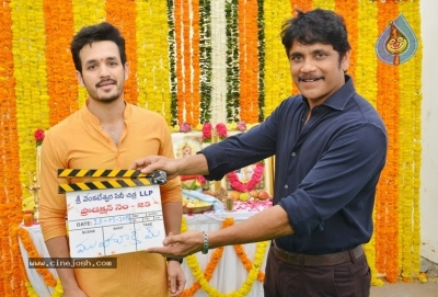 Akhil-Venky Atluri Movie Opening Photos - 80 of 86