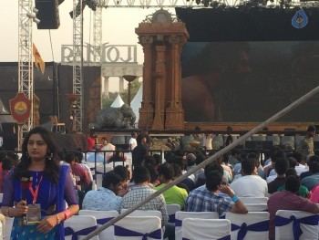 Baahubali 2 Pre Release Event Arrangements Photos - 6 of 20