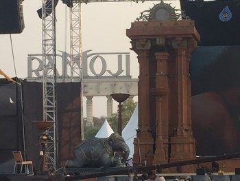 Baahubali 2 Pre Release Event Arrangements Photos - 9 of 20