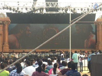 Baahubali 2 Pre Release Event Arrangements Photos - 14 of 20