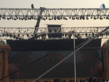 Baahubali 2 Pre Release Event Arrangements Photos - 18 of 20