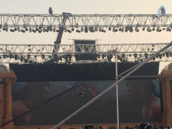 Baahubali 2 Pre Release Event Arrangements Photos - 19 of 20