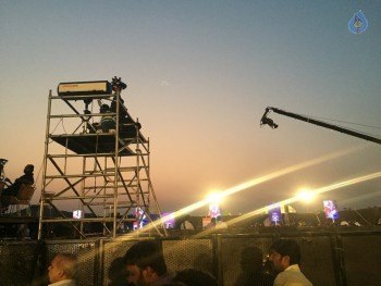 Baahubali 2 Pre Release Event Arrangements Pics - 2 of 38