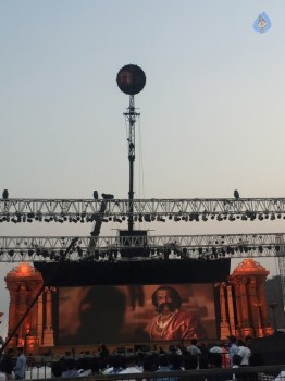 Baahubali 2 Pre Release Event Arrangements Pics - 5 of 38