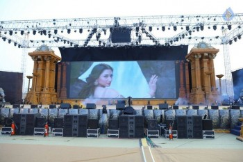 Baahubali 2 Pre Release Event Arrangements Pics - 6 of 38