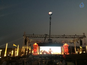 Baahubali 2 Pre Release Event Arrangements Pics - 9 of 38