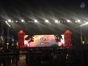 Baahubali 2 Pre Release Event Arrangements Pics - 11 of 38