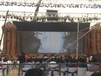 Baahubali 2 Pre Release Event Arrangements Pics - 12 of 38
