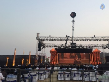 Baahubali 2 Pre Release Event Arrangements Pics - 14 of 38