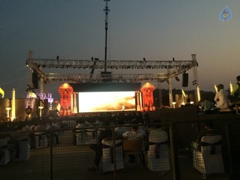 Baahubali 2 Pre Release Event Arrangements Pics - 18 of 38