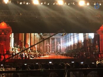 Baahubali 2 Pre Release Event Arrangements Pics - 21 of 38